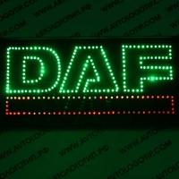 Светящийся логотип для грузовика DAF большой
