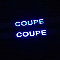 Накладки на пороги с подсветкой Hyundai Coupe