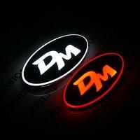 2D светящийся логотип Santa Fe DM, большой