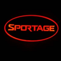 Светящийся логотип KIA Sportage