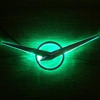 Светодиодная подсветка логотипа автомобиля UAZ (УАЗ)+логотип металл
