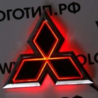 Светящийся логотип Mitsubishi,светящаяся эмблема Mitsubishi,светящийся логотип на авто Mitsubishi,светящийся логотип на автомобиль  Mitsubishi,подсветка логотипа Mitsubishi ,2D,3D,4D,5D,6D