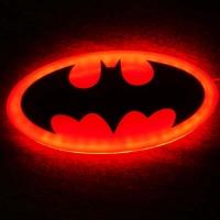 2D светящийся логотип Бэтмен
