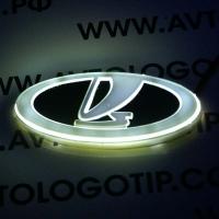 4D светящийся логотип VAZ (ВАЗ)