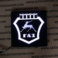 Светящийся логотип GAZ