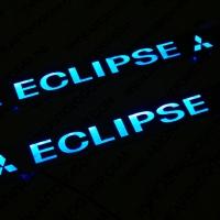 Пороги с подсветкой Mitsubishi Eclipse