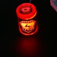 Пепельница с подсветкой 2D логотип GAZ
