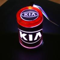 Пепельница с подсветкой 2D логотип KIA