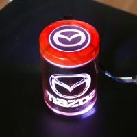 Пепельница с подсветкой 2D логотип Mazda