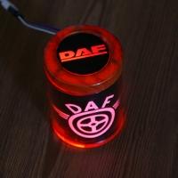 Пепельница с подсветкой 2D логотип DAF