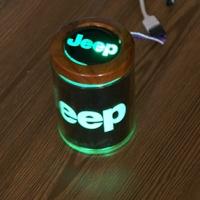 Пепельница с подсветкой 2D логотип Jeep