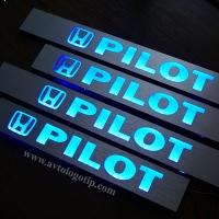 Накладки на пороги с подсветкой Honda Pilot