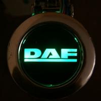 Пепельница с подсветкой логотипа DAF