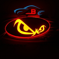 Светящийся логотип Злой (I'm angry)