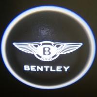 Внешняя подсветка дверей с логотипом Bentley 7W