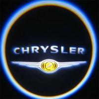 Внешняя подсветка дверей с логотипом Chrystler 5W