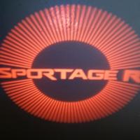 Внешняя подсветка дверей с логотипом Sportage R 7W