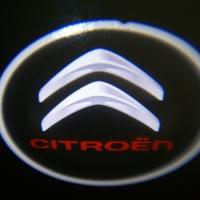 Внешняя подсветка дверей с логотипом Citroen 5W