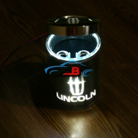 Пепельница с подсветкой 2D логотип Lincoln