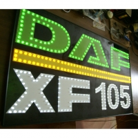 Большой логотип светящийся DAF XF105
