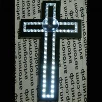 Светодиодный Крест на стекло