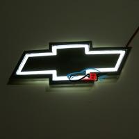 5D светящийся логотип Chevrolet 17,6*7,2см