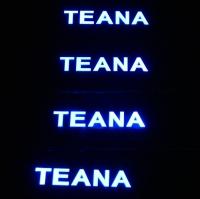 Накладки на пороги с подсветкой Nissan Teana