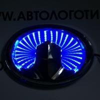 3D светящийся логотип Great Wall