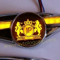 Светодиодный поворотник с логотипом JP