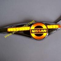 Светодиодный поворотник с логотипом NISSAN