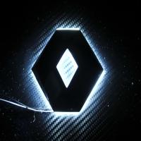 Подсветка логотипа Renault Duster, перед
