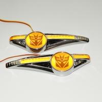Светодиодный поворотник с логотипом Decepticon