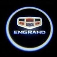 Беспроводная подсветка дверей с логотипом Emgrand