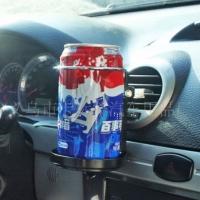 Автомобильный кондиционер Vent складной,держатель для напитков, черный