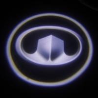Внешняя подсветка дверей с логотипом Great Wall 5W