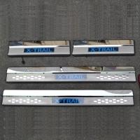 Накладки на пороги с подсветкой NISSAN X-Trail T32
