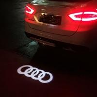 Тень логотипа audi,Подсветка днища с логотипом audi,Проекция логотипа авто под бампер audi,Проектор логотипа audi,Подсветка машины с логотипом audi