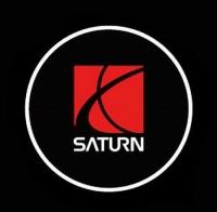 Внешняя подсветка дверей с логотипом Saturn 7W