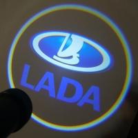Подсветка дверей с логотипом Lada 5W mini