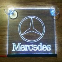 Таблички светящиеся на стекло Mercedes (Мерседес)