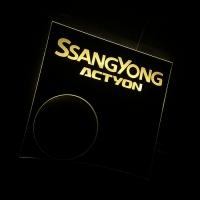 Подсветка центральной консоли SsangYong Actyon