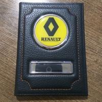 Обложка для автодокументов Renault (Рено)