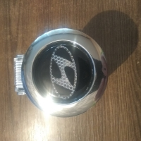 Пепельница с подсветкой 2D логотип Hyundai