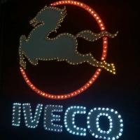 Картина логотип для грузовика IVECO