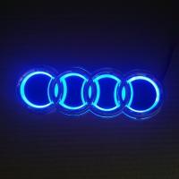 Светящаяся 5D светодиодная эмблема audi , это что-то не вероятное.   Хочешь блеснуть среди владельцев марки AUDI, это для вас.  Оригинальный, цельный корпусом с лаковым защитным покрытием, ничем не отличается визуально от оригинальной эмблемы ауди. Облада