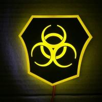 Светящийся логотип Карантин (Quarantine)