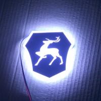 Светящийся логотип GAZ Gazel