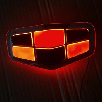 Светящийся логотип Geely Emgrand