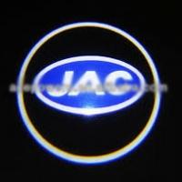 Беспроводная подсветка дверей с логотипом JAC