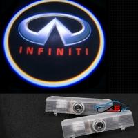 Штатная подсветка дверей INFINITI QX56,JX35,QX60
